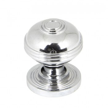 From The Anvil Prestbury Cabinet Knob Polished Chrome Small