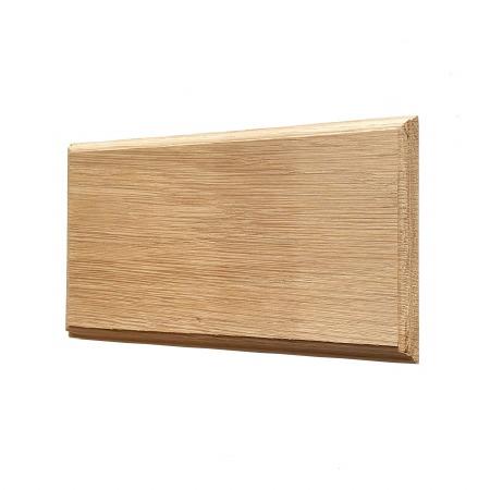 Oak Plinth for House Numbers profile Edge 3 Digit