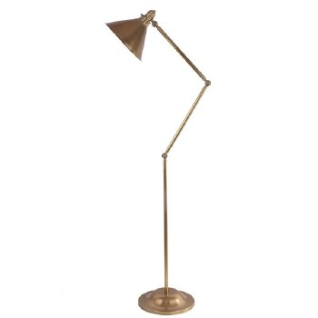 Elstead Provence Floor Lamp Aged Brass
