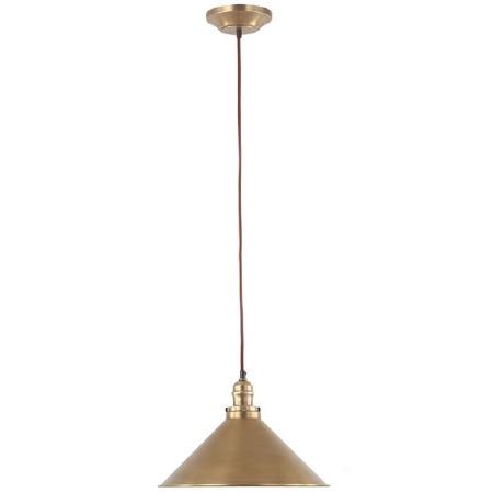 Elstead Provence Ceiling Pendant Light Aged Brass