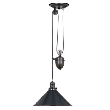 Elstead Provence Rise & Fall Light Old Bronze