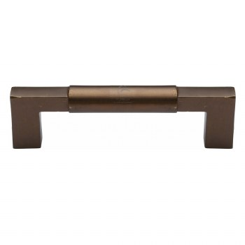 Heritage Pull Handle RBL346 227mm Small Solid Bronze Rustic