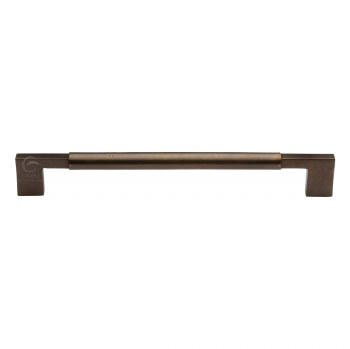 Heritage Pull Handle RBL346 457mm Large Solid Bronze Rustic