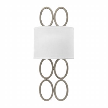 Quintessentiale Jules Double Wall Light Brushed Nickel