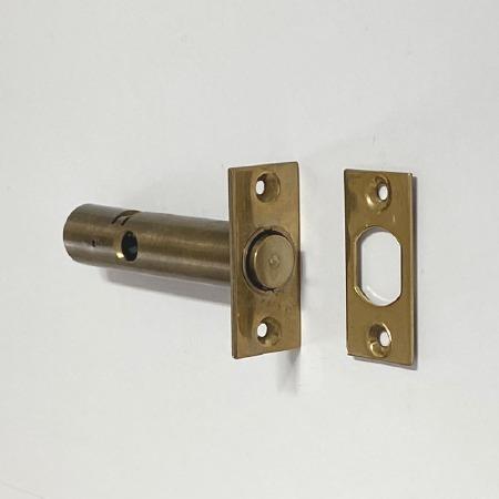 Aston Rack Door Bolt 45mm backset Polished Brass Unlacquered