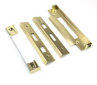 From The Anvil Rebate Kit for Euro Sash Lock Polished Brass