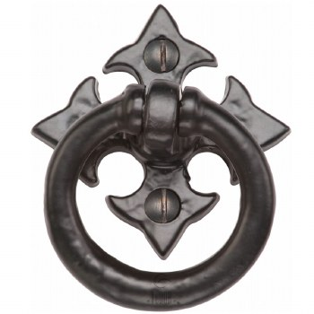 Heritage Tudor Ring Handle TC626 Black Ironwork