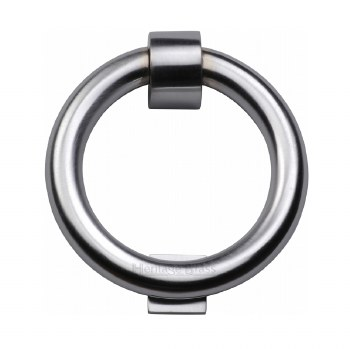 Heritage K1270 Ring Door Knocker Satin Chrome