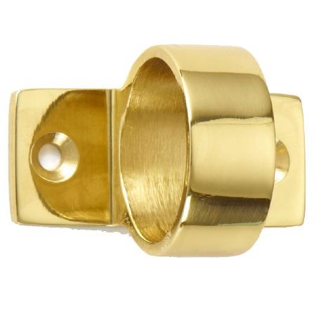 Croft Ring Sash Lift Polished Brass Unlacquered