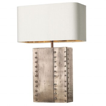 David Hunt RIV4364 Rivet Table Lamp Base Copper