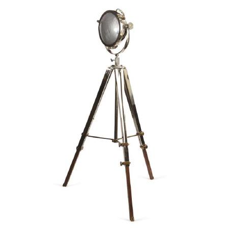 Rolls Headlamp Tripod Floor Lamp PNP