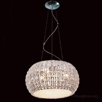 Crystal 9 Light Ceiling Pendant