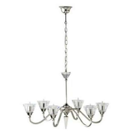Valsan Roxbury 6 Arm Ceiling Lamp