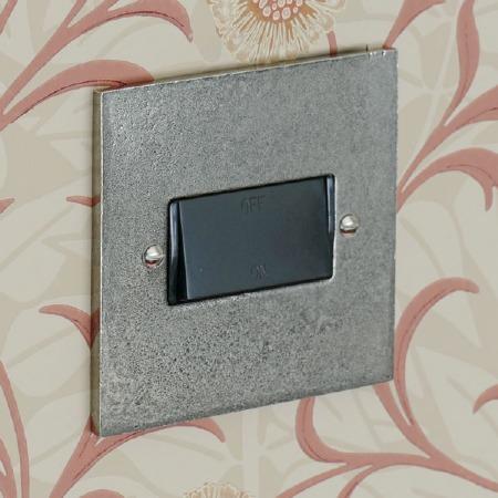 Pewter Fan Isolator Switch