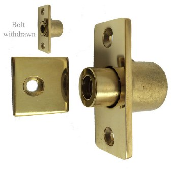 Aston Sash Stop 0203 Polished Brass Unlacquered