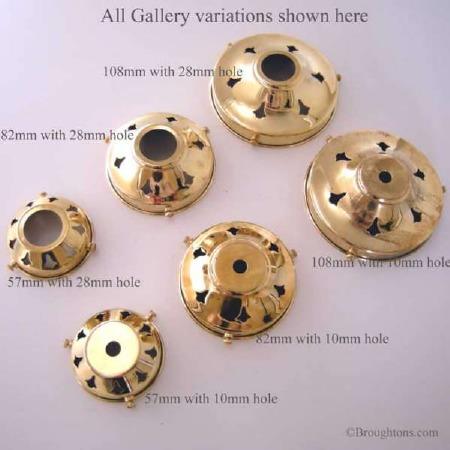 Shade Gallery Brass 28mm Small