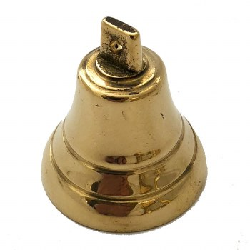 Small Bell Only Polished Brass