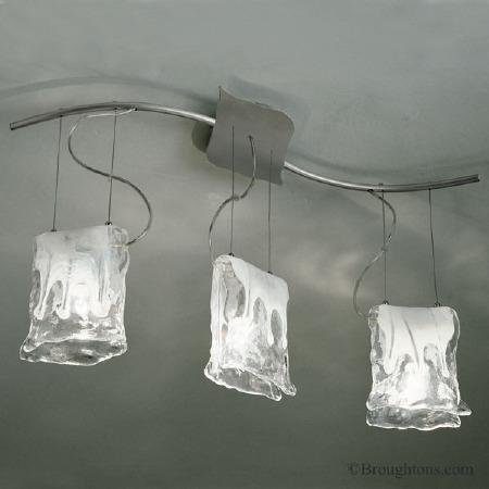 Sil Lux Murano 3 Light Ceiling Light