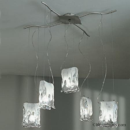 Sil Lux Murano 5 Light Ceiling Light