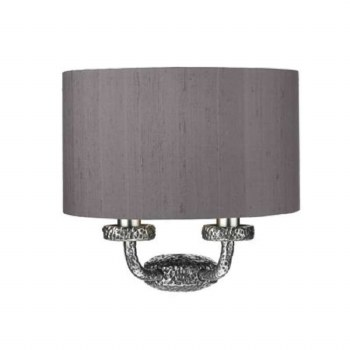 David Hunt SLO3099-SI Sloane Double Wall Light Pewter
