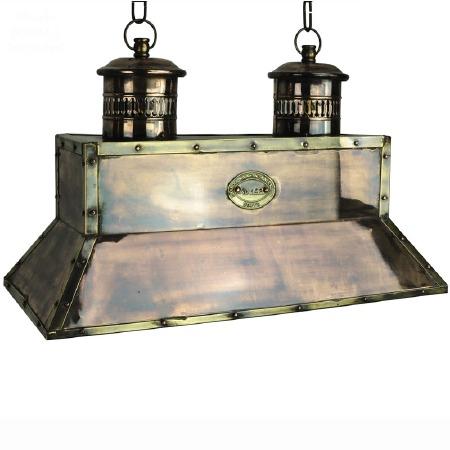 Smithy Pendant Light Renovated Brass