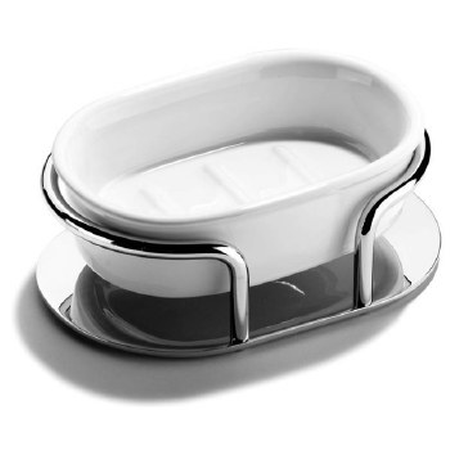 Samuel Heath L64 Freestanding Soap Dish Polished Chrome