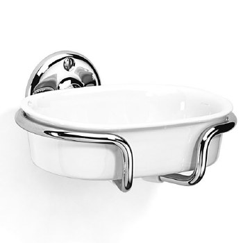 Samuel Heath N34 Soap Dish Polished Chrome