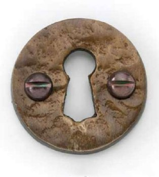 Round Escutcheon Country Bronze
