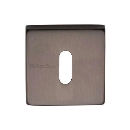 Heritage SQ5002 Square Escutcheon Matt Bronze Lacquered