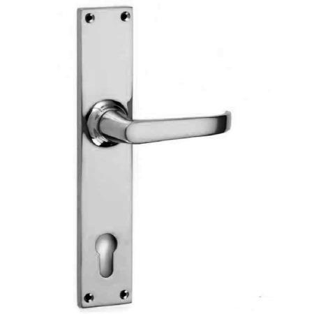 Croft Stafford 2101E Multipoint Door Lock Handles Polished Chrome