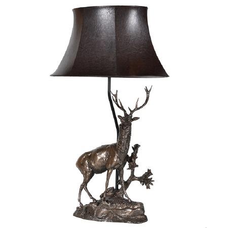 Deer Table Lamp & Shade PY209