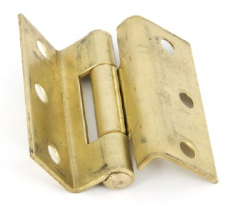 From The Anvil Stormproof Hinge Self Colour Brass