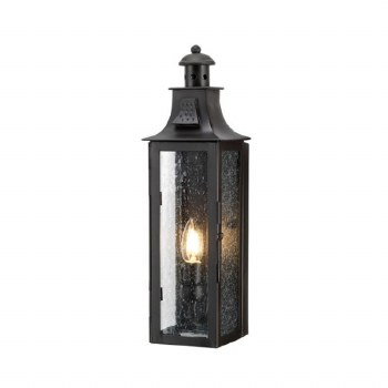 Elstead Stow Flush Outdoor Wall Light Lantern