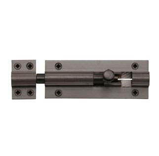"Heritage Straight Door Bolt C1582 4"" Matt Bronze"