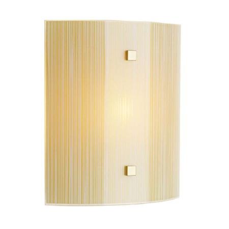 David Hunt SWL0763 Swirl Flush Wall Light Bronze with Amber Glass