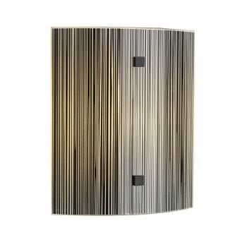 David Hunt SWL0722 Swirl Flush Wall Light Black