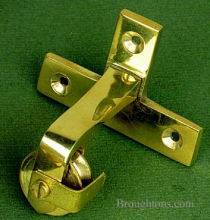 Door Bell Pulley Renovated Brass