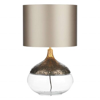 David Hunt TEA4363 Teardrop Table Lamp Base Bronze