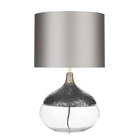 David Hunt TEA4367 Teardrop Table Lamp Base Pewter