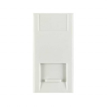 Telephone Module Secondary White 50x25mm
