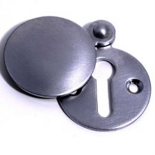 Aston Covered Escutcheon 0175 Satin Chrome