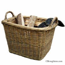 Country Log Basket