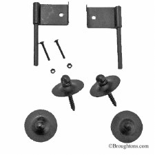 Fire Screen Hook Kit