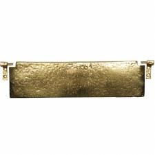 Kirkpatrick 1102 Internal Letter Flap Hammered Brass 298mm