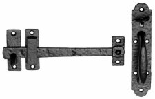 Kirkpatrick 1145 Suffolk Thumb Latch Antique Black