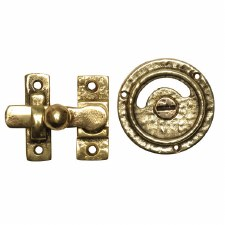 Kirkpatrick B1150 Privacy Indicator Bolt Hammered Brass