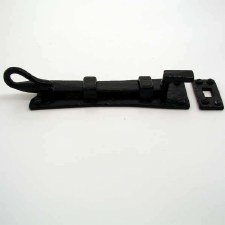 "Kirkpatrick 1156C Necked Door Bolt 6"" Antique Black"