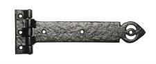 """Kirkpatrick 1161 Tee Hinge 12"""" Strong Antique Black"""