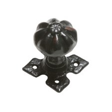 Kirkpatrick 1205 Mortice Door Knobs Antique Black