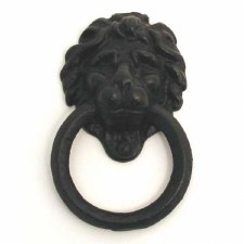 Kirkpatrick 1243 Lion Cabinet Handle Antique Black